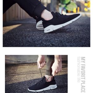 9eaaa4cff767 2018 summer new flying woven casual shoes shoes mesh breathable sports Korean  version of the tide small white shoes wild male students